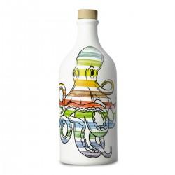 Olio extravergine di oliva Orcio ceramica Polpo coratina - Muraglia - 500ml