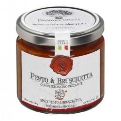 Pesto e Bruschetta all'Arrabbiata - Cutrera - 190gr