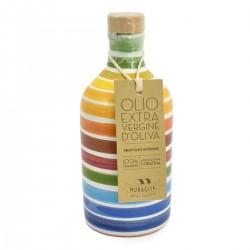 Olio extravergine di oliva Orcio ceramica Arcobaleno coratina - Muraglia - 100ml