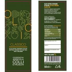 Olio extravergine di oliva Classico - Colli Etruschi - 500ml